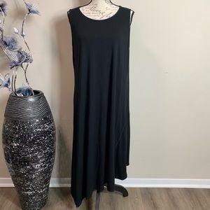 Eileen Fisher Black Maxi Dress